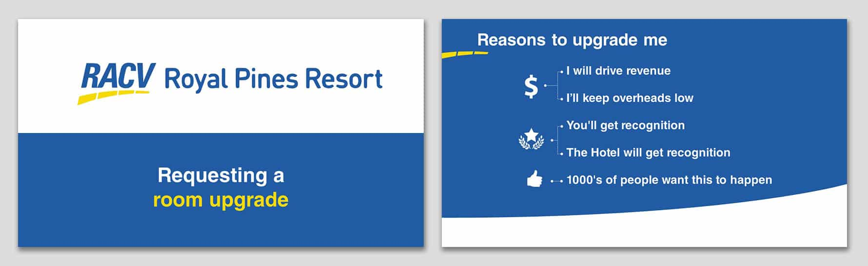 How I Got a Room Upgrade with PowerPoint Presentation