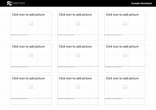 Storyboard, Starting Your Storyboard – Part 3 of The Animation Process