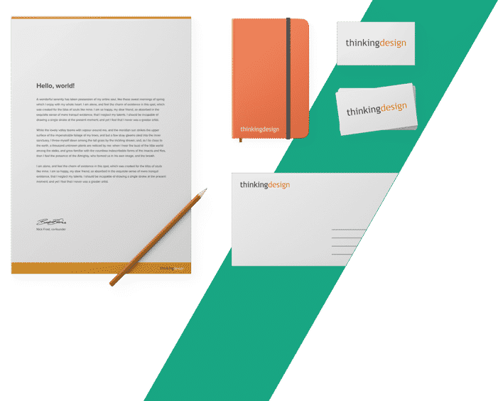 Stationery, What We Do – Print – Stationery