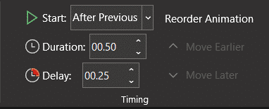 animation speed, Changing PowerPoint Animation Speed