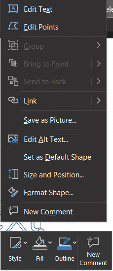 text, Converting Text to Shapes in PowerPoint