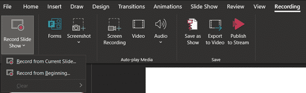 narration, Adding Narration and Closed Captions in PowerPoint