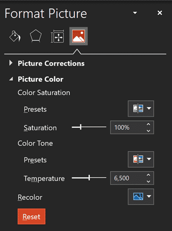 transparency, Image Transparency in PowerPoint